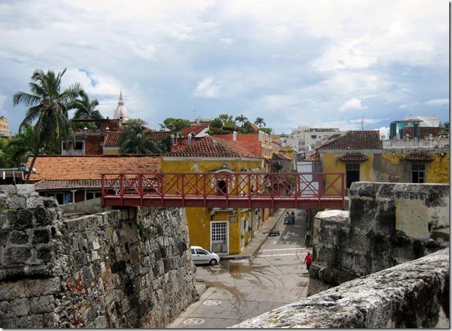 Las Murallas and El Centro