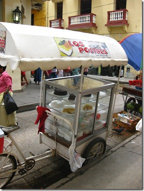 Mobile cake shop
