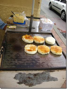 Arepa con queso