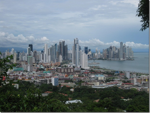 Panama City from Cerro Ancon