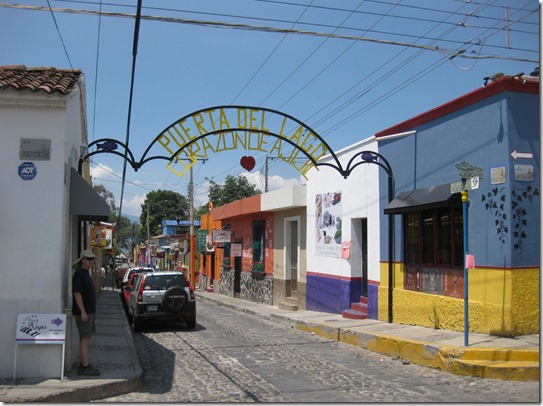 Main drag in Ajijic