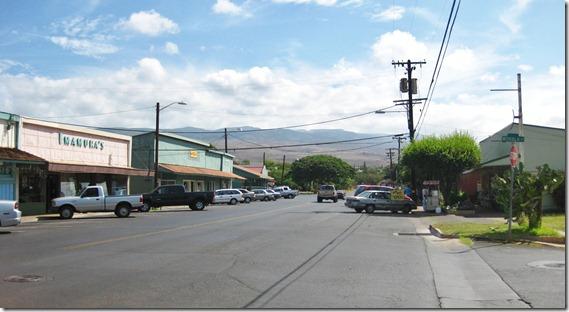 Kaunakakai main street