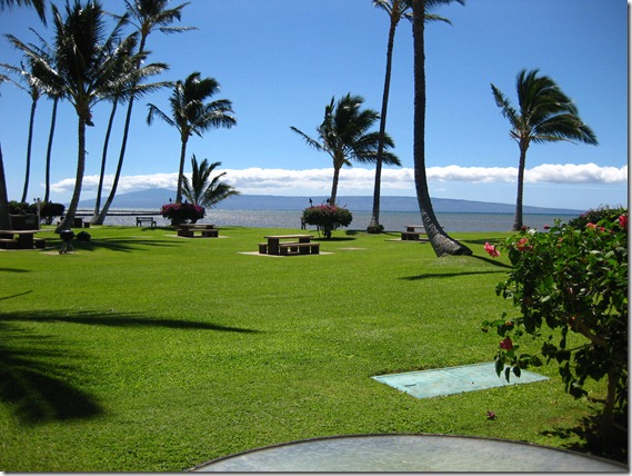 From Molokai Shores condo