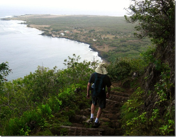 Along the Kalaupapa Trail