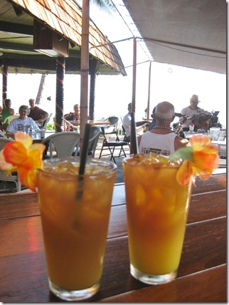 Mai Tai's at the Hotel Molokai