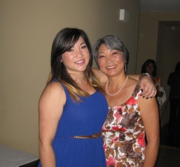 Valerie with Chrissy
