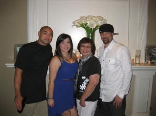 Mom with Jason, Chrissy & Tim