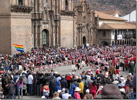 Part of Inti Raymi festival