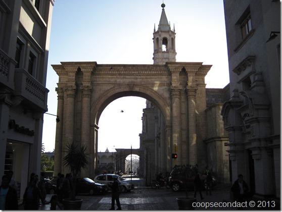 Arch, La Catedral