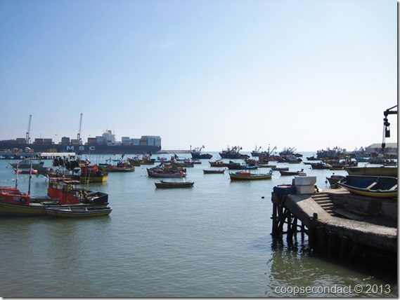 Harbor at Arica