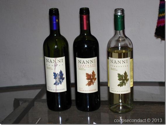 Bodega Nanni wine tasting