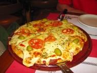 Pizza at La Tasca