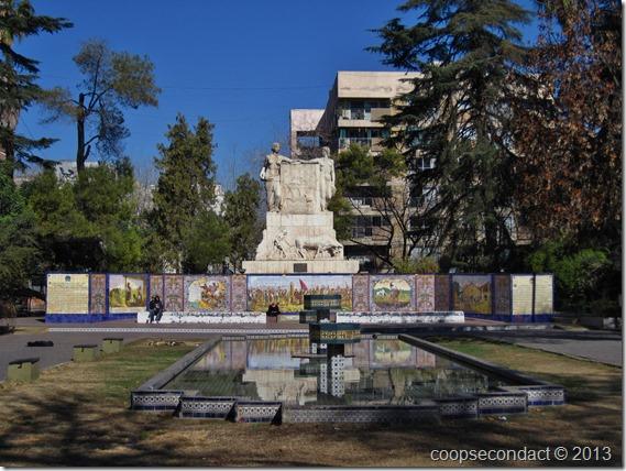 Plaza España, nice park around the city