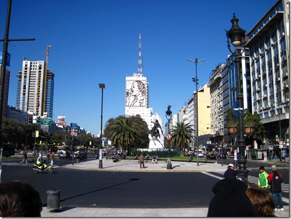 Portion of Avenida 9 de Julio