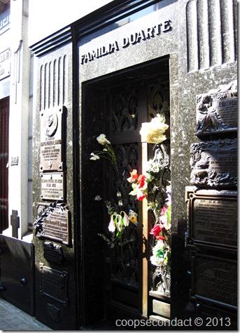 Evita Peron's vault
