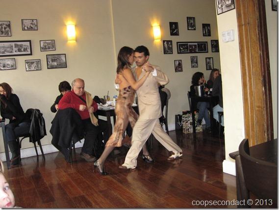Tango dancers-Drusila restaurant