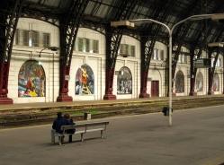 Retiro Station-platform