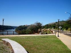 Walkway along Iguazu River