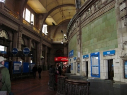 Retiro Station-ticket lobby