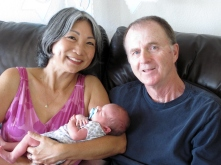 Tad with Valerie and Kevin