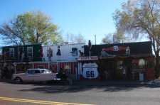 Store fronts in Seligman