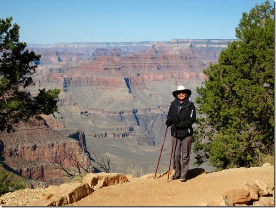 Intrepid hiker