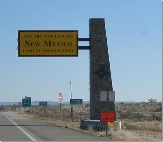 Leaving New Mexico