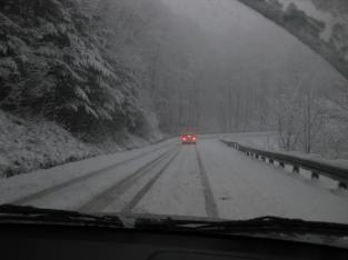 Snowfall in West Virginia
