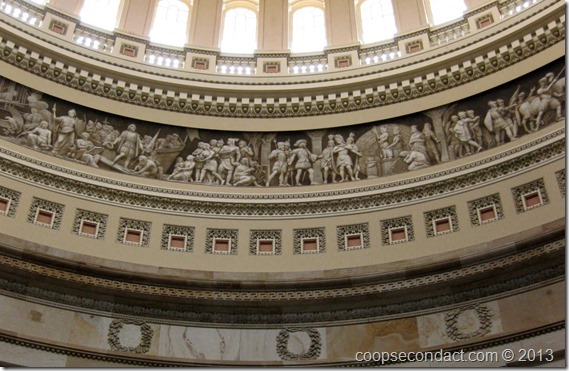 US Capitol-Rotunda Frieze