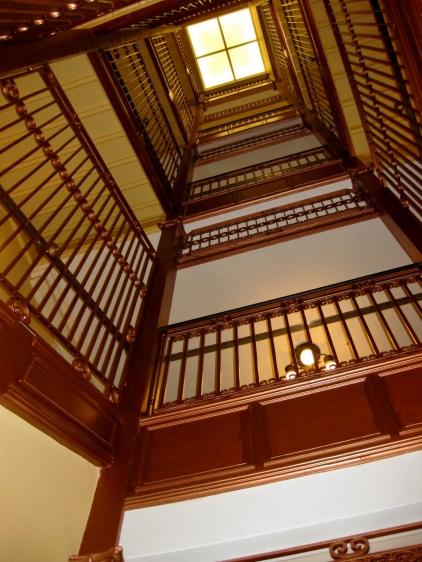 Copper cage for original elevator
