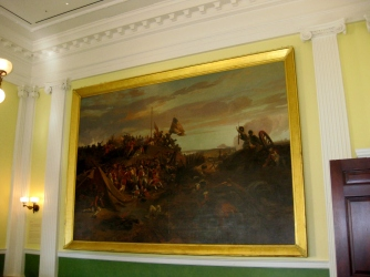 Painting in the Old Senate Chamber