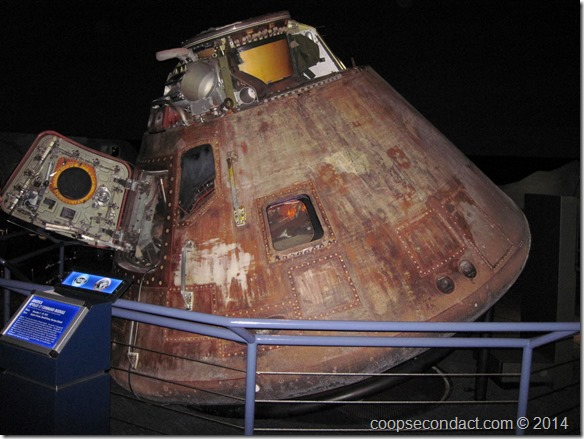 Actual Apollo 17 Command Module