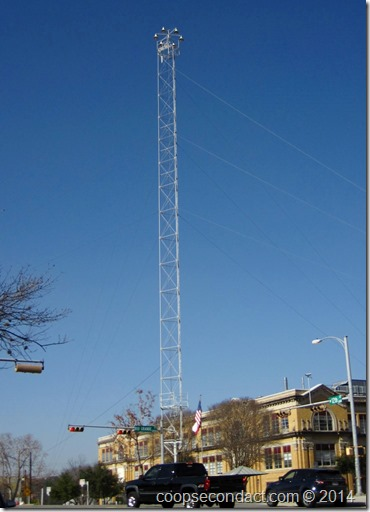 One of Austin's Moonlight Towers