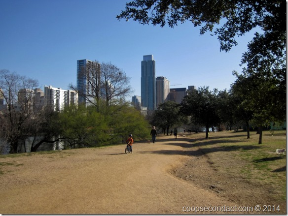 Walkway along Lady Bird Lake