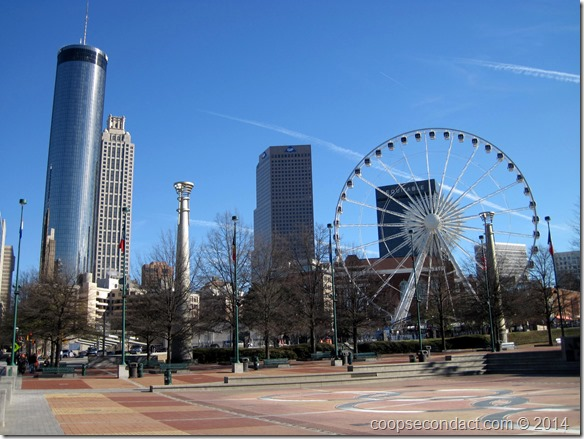 View from Centennial Olympic Park