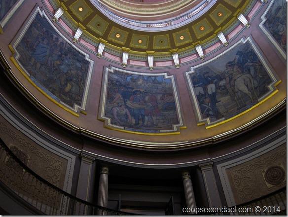 Capitol rotunda murals