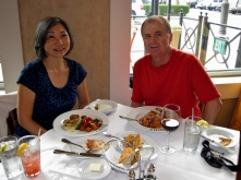 Lunch at Brio Tuscan Grille, Rancho Cucamonga