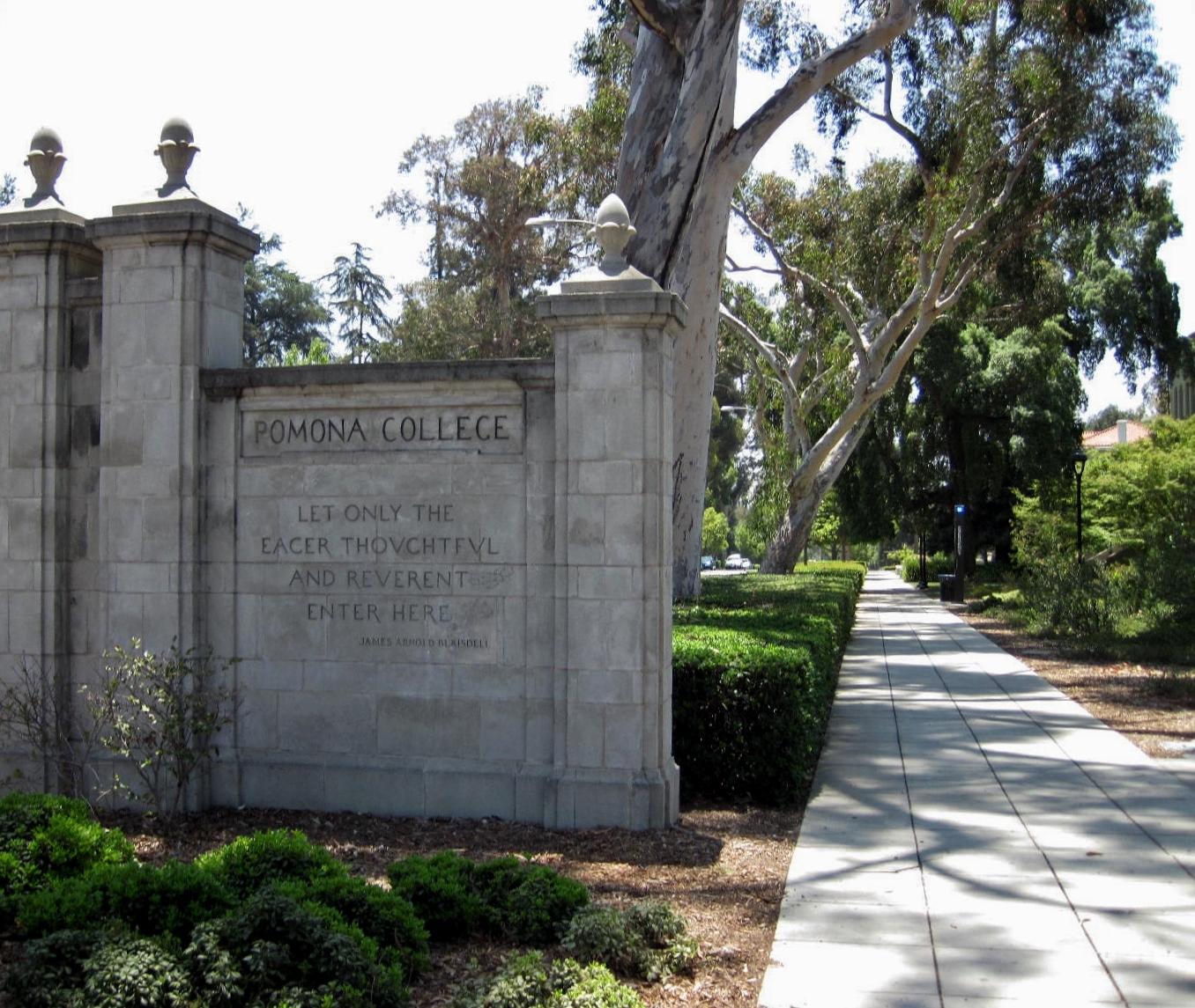 Pomona College In Claremont California Pomona College: House Sitting In Rancho Cucamonga