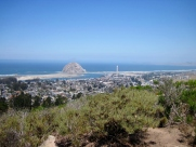 Morro Rock and coastline