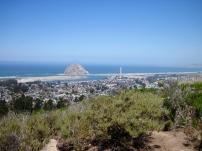 Morro Rock and coastline