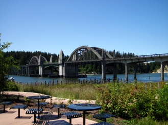 Siuslaw River Bridge - Florence, OR