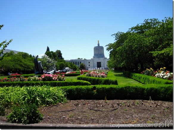 Oregon State Capitol and grounds