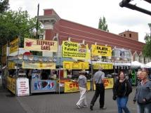 Portland Saturday Market-food