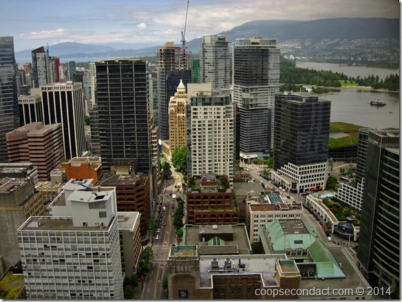 Vancouver from the Lookout