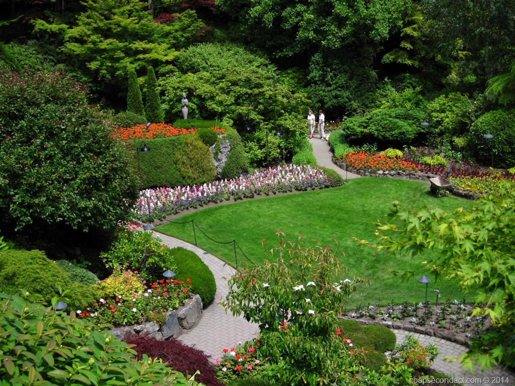 The Butchart Gardens And Victoria Bc Second Act