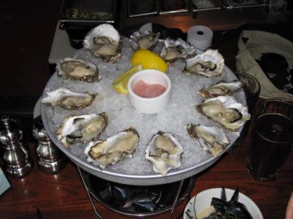 Dozen Fresh Local Oysters