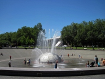 Seattle Center - International Fountain