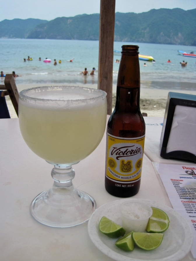 Cuastecomate - Margarita and Cerveza