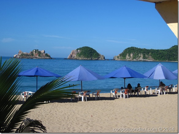 Beach at Melaque
