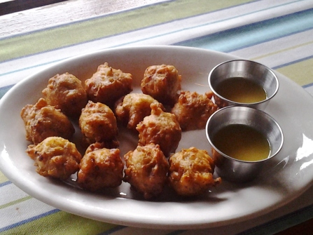 More conch fritters